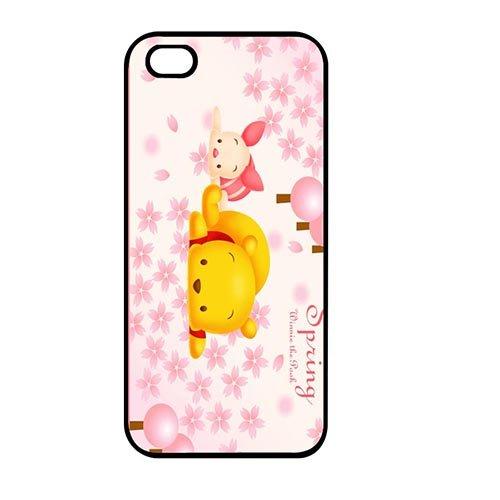 Coque,Unique Cover Case Covers for Coque iphone SE/Coque iphone 5/Coque iphone 5S, Winnie the Pooh Quotes Design