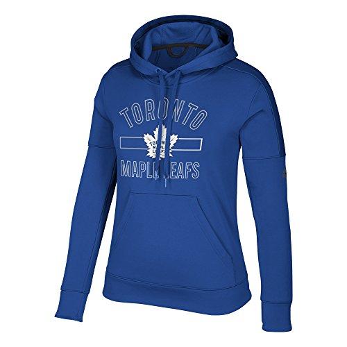 - adidas NHL Toronto Maple Leafs Womens Open Box Team Issued Pullover Hoodopen Box Team Issued Pullover Hood, Collegiate Royal, X-Large