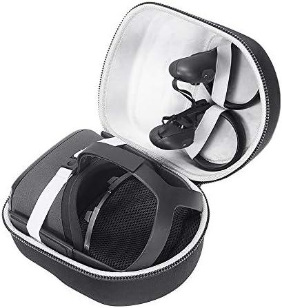 Esimen ハードキャリーケース Oculus Quest オールインワン VRゲームヘッドセットとコントローラー用 64GB 128GB 保護収納トラベルボックス