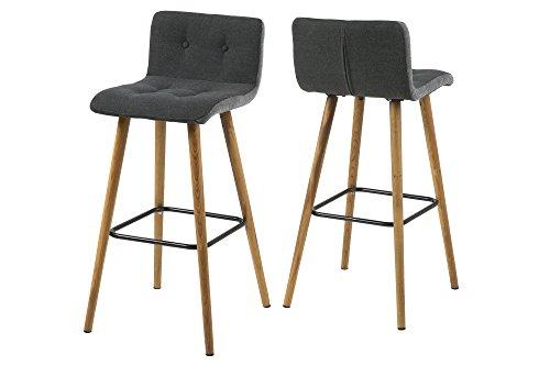 Ac design furniture barhocker charlotte b: 44 5 x t:47 x h: 96 5 cm