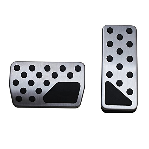 (AutoBig Gas Brake Pedal Cover for Jeep Grand Cherokee Dodge Durango 2011-2019)