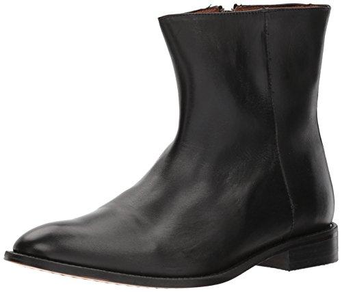 Fitzwell Menns Abraham Kort Boot Sort Skinn Støvel 9,5 M