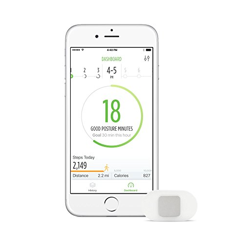 Lumo Lift Posture Coach and Activity Tracker (requires the free Lumo Lift  iOS/Android app) from Lumo BodyTech