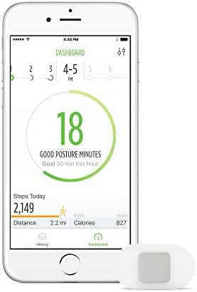 Lumo Lift Posture Coach and Activity Tracker (requires the free Lumo Lift iOS/Android app)