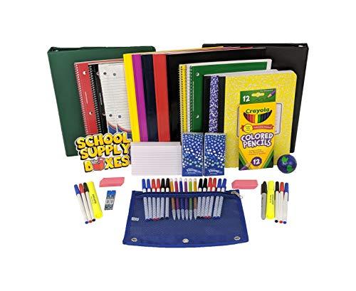 Secondary School Essentials Back to School Kit - School Supplies Bundle Includes 1