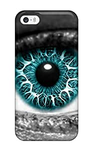 Adam L. Nguyen's Shop First-class Case Cover For Iphone 5/5s Dual Protection Cover Blue Artistic 9938614K44304539