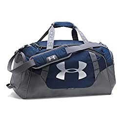 Under Armour Undeniable 3.0 Large Duffle Bag, Midnight Navy (410)silver