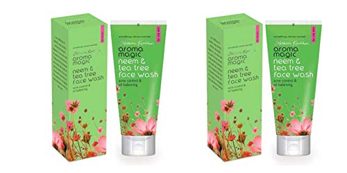 Aroma Magic Neem and Tea Tree Face Wash  Pack of 2