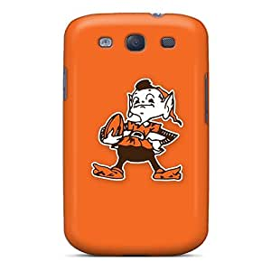 Premium Cleveland Browns 4 Back Cover Snap On Case For Galaxy S3