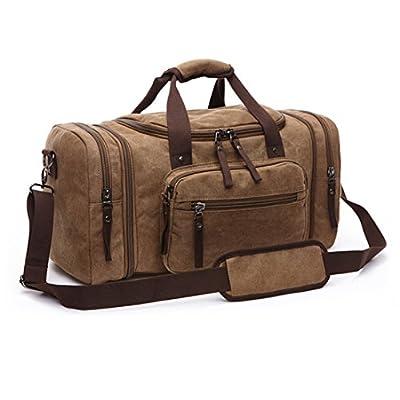 223475fcf447 Large Canvas Weekender Luggage Bag Travel Duffel Bag Shoulder Bag Luggage  chic