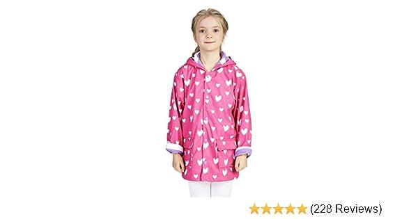a5ab90c0a0f9 Amazon.com  Hatley Girls  Printed Raincoats  Clothing