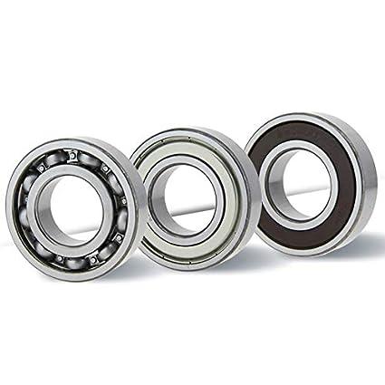 6005/ZZ//6005z Rodamientos 25/X 47/X 12/mm Calidad Industrial din625/ /1/con bolas de precisi/ón de G10//25/mm de di/ámetro interior