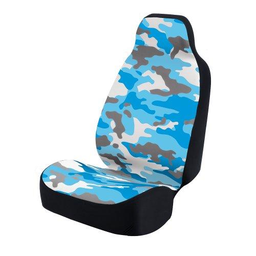 blue camo car seat covers - 8