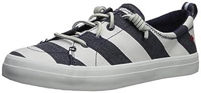 SPERRY Women's Crest Vibe Breton Stripe Sneaker