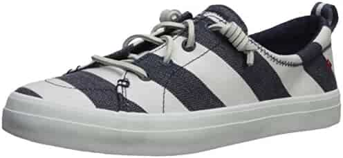 Sperry Top-Sider Women's Crest Vibe Breton Stripe Sneaker