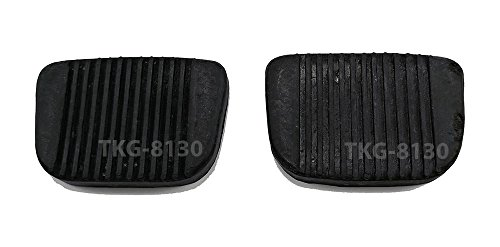 K1AutoParts Clutch Brake Pedal Pad Cover For Toyota Hilux RN10 (1968-1972) / RN20 (1972-1978)
