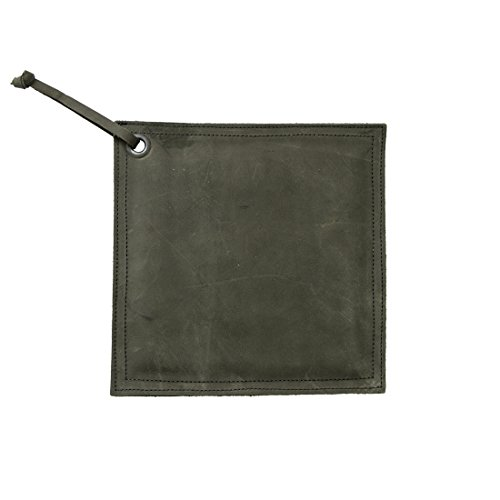 Leather Hot Pot Pad (Potholder), Double Layered, Double Stitched and Handmade by Hide  Drink :: Smoke