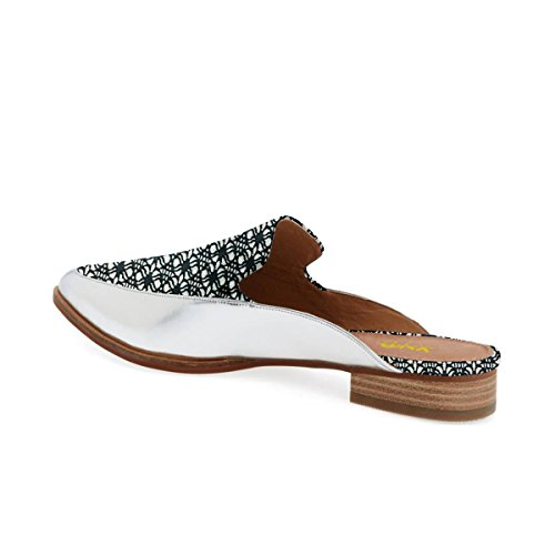 Easy Low For Walking Heel Pointed Chic Slide Toe XYD Printed Shoes Flats Women Loafer Mule f7YX0wAn