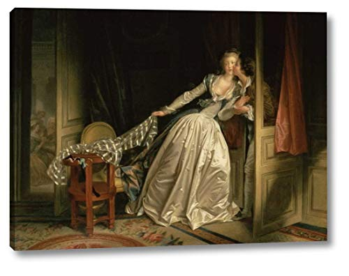The Stolen Kiss by Jean-Honore Fragonard - 14
