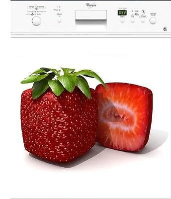 stickersnews/ /Adesivo in lavastoviglie elettrodomestici decorativo casa Fragola 60/x 60/cm Rif 021