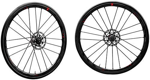 Fulcrum Racing Zero Carbon Disc, 700C Wheelset, Center Lock, 2-Way Fit, Shimano/SRAM 11-Speed