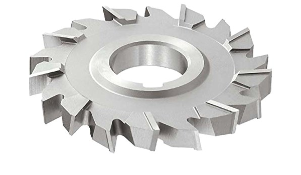 5//16 Width 20 Teeth KEO Milling 80368 Straight Tooth M42 Side Milling Cutter,DB Style 1 Arbor Hole 3 Cutting Diameter HSCO TiCN Coating