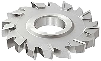 HSS 1-1//2 Arbor Hole 38 Teeth 10 Cutting Diameter 9//16 Width Standard Cut TiN Coating KEO Milling 06561 Straight Tooth Milling Cutter,B Style