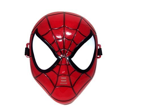 Marvel Superhero The Avengers Costume LED Light Eye Mask (Spiderman)