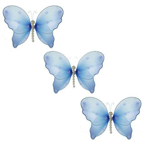 Hanging Nursery Ceiling Room Decor (The Butterfly Grove Isabella Butterfly Decoration - Medium 11