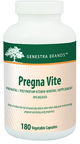 Cheap Genestra Brands – Pregna Vite – Supports Healthy Pregnancy with Folic Acid, Vitamin D and Iron* – 180 Capsules