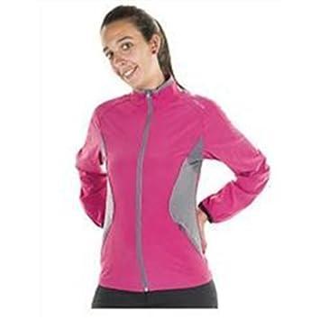 Joluvi Meta - Chaqueta para mujer, color rosa/gris, talla L: Amazon.es: Deportes y aire libre