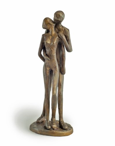 Danya B. ZD11075 Contemporary Sand-Casted Bronze Anniversary/Wedding / Engagement/Romance Sculpture - Couple ()