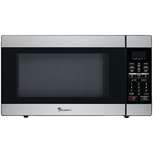 Magic Chef MCD1811ST 1.8 Cu ft 1100W Stainless Microwave W/Digital Touch & Timer - ONE YEAR Warranty