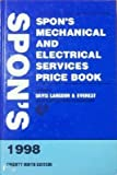 Spon's Mechanical and Electrical Services Price Book, Langdon Davis, 0419230807