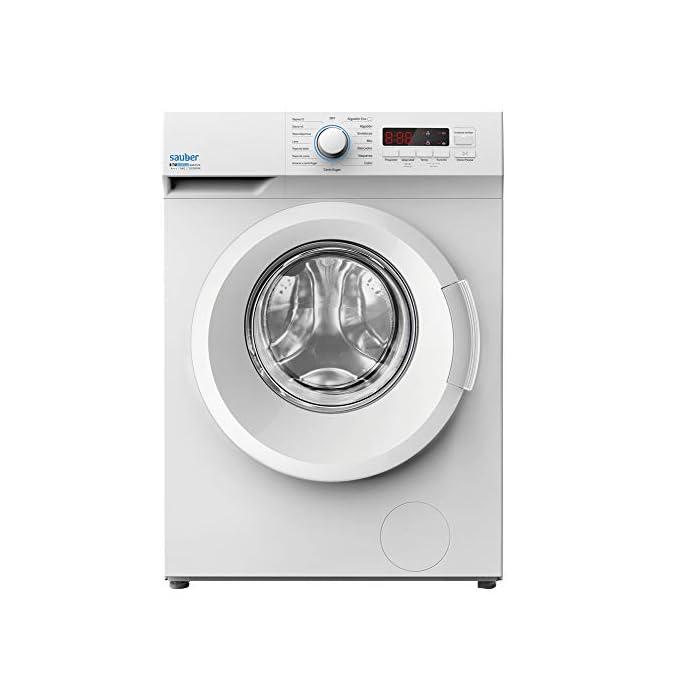 41uLirKG%2BDL Haz clic aquí para comprobar si este producto es compatible con tu modelo Sauber Priority Class: ENTREGA, CONEXIÓN Y RETIRADA DEL USADO EN SU DOMICILIO INCLUIDO. Capacidad de carga (kg): 6 Kg, Clasificación Energética: A+++. Las lavadoras de la serie EcoBlue de Sauber facilitan el cuidado de tu ropa y de tu lavadora, con el menor consumo energético y fácil control.