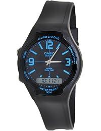 Casio Men's Core AW90H-2BV Black Resin Quartz Watch