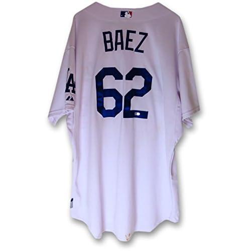 online retailer 6a631 718cc 30%OFF Pedro Baez Team Issue Jersey Dodgers Home White 2014 ...