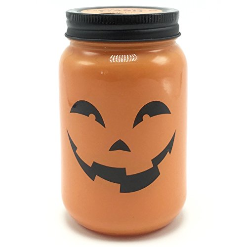 DW Home Monster Mash Halloween Jack-o-Lantern Pumpkin Rum Scented Jar Candle ()