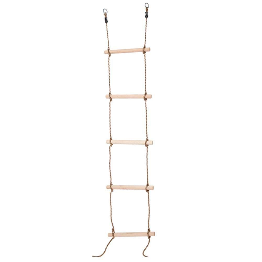 Funarrow Sturdy Indoor/Outdoor Rope Climbing Ladder, Climbing Game for Tree House, Playground, Play Set