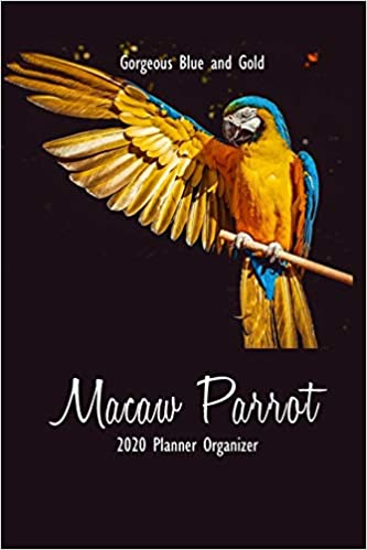 Gorgeous Blue and Gold Macaw Parrot 2020 Planner Organizer ...