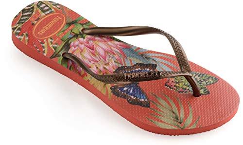 Infradito 2162 Multicolore Slim Donna strawberry Tropical Havaianas TnOPqRCP