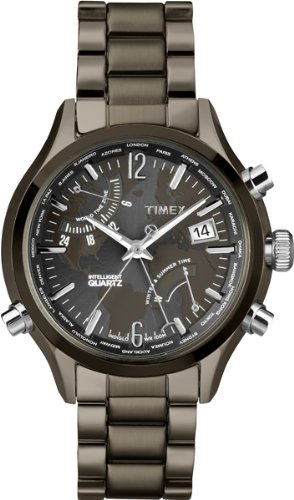 Timex Intelligent Quartz T2N946 Mens World Time Watch