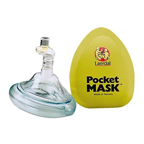 Laerdal Pocket Mask, Basic, with Yellow Hard Plastic Case ()