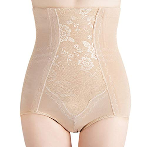 Women High Waist Maternity Body Shaper Slimming Postpartum Corset Belt for Belly Reducing Panties,Skin,M