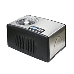 With the WHYNTER ICM-15LS stainless steel frozen dessert ice cream maker, you can make a spread of delectable desserts in about 30-40 minutes. This versatile self –freezing ice cream maker allows you to not only make premium ice cream but als...