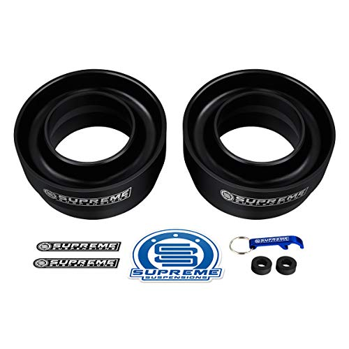 "Supreme Suspensions - Front Leveling Kit for 1994-2019 Dodge Ram 1500 3"" Front Lift Spring Spacers 2WD"