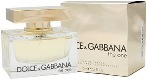 Dolce & Gabbana The One By Dolce & Gabbana For Women. Eau De Parfum Spray 2.5 Oz /75 Ml.