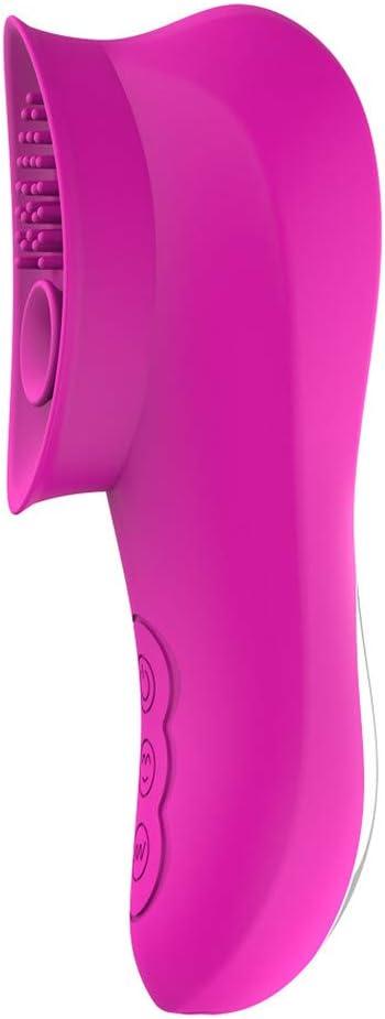 Liuqiang11 Succiónạdor de Clítóris, Vibrạdórés Clítoris para Mujer Vibrạdór de Puntó G con,10 Modos de Vibración Y 10 Modos de Succión,Carga USB,Rosado
