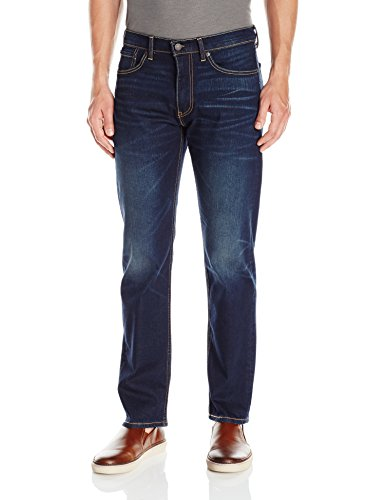 Free Levi's Men's Regular 505 Fit Jean-Promo, Compass-Stretch, 36 30