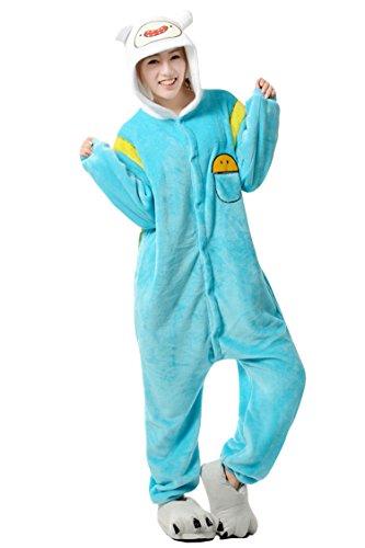 Adventure Time Adult Finn Anime Onesie Kigurumi Pajamas Cosplay Costume